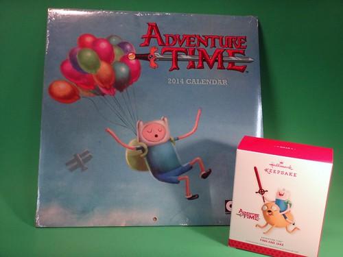 Adventure Time Calendar & Ornament