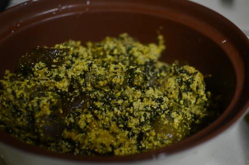Egusi soup with bitter leaf » Bellar Mart