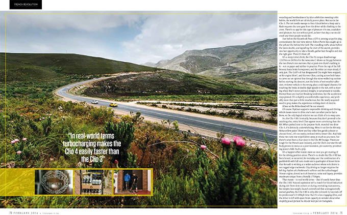 Desmond Louw car automotive photography feature in TopGear magazine South Africa dna photographers 07
