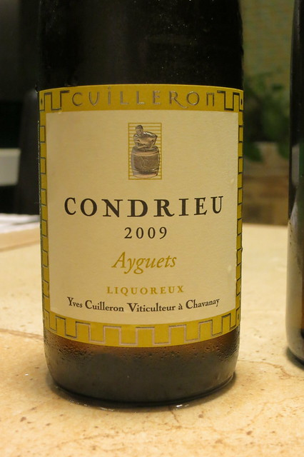 Yves Cuilleron 2009 Condrieu Ayguets Liquoreux