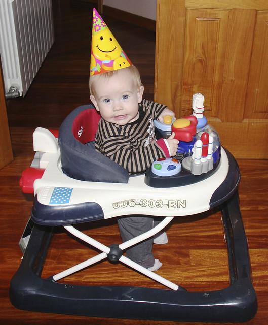 Birthday Astronaut