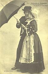 Recueil de cartes postales sur la Bretagne - Costumes de Rosporden
