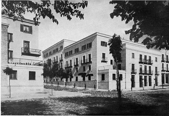 Avenida de la Reconquista. Finales de los años 40