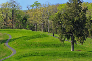 Serpent Mound, photo by Ohio History Connection