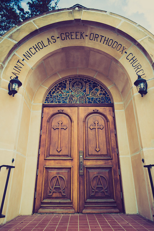 Saint Nicholas Greek Orthodox Church Doors