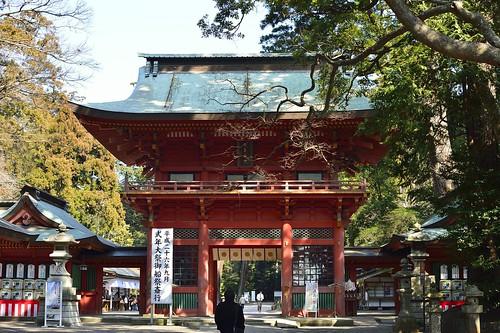 鹿嶋神宮楼門 by leicadaisuki