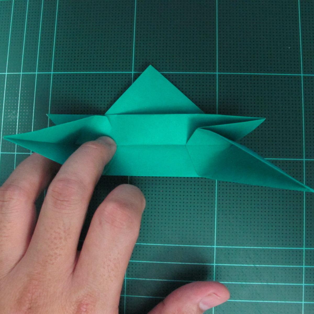 การพับกระดาษเป็นรูปเรือมังกร (Origami Dragon Boat) 019