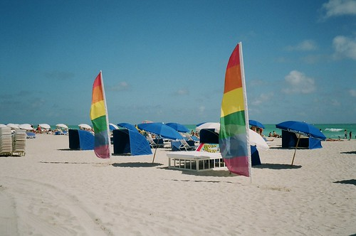 Gay Flags South Beach