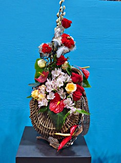 Wildly Romantic-A Design in A Basket, Canada Blooms, Direct Energy Centre, Toronto, ON