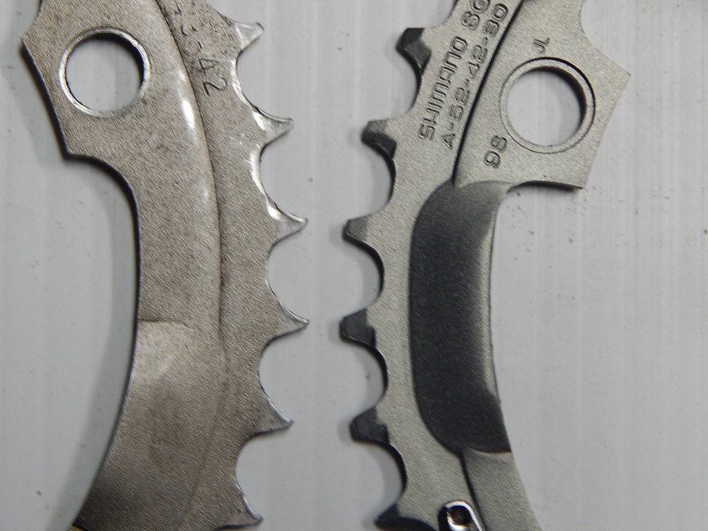Slightly Bent Chainring Or Rear Sprocket Acceptable On