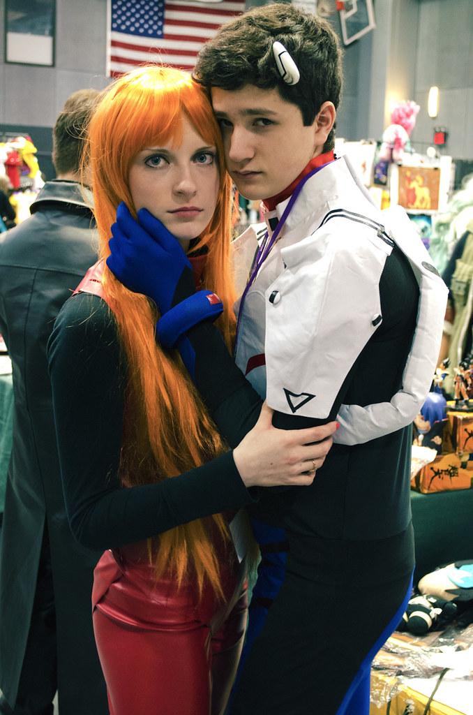 Shinji & Asuka Cosplay
