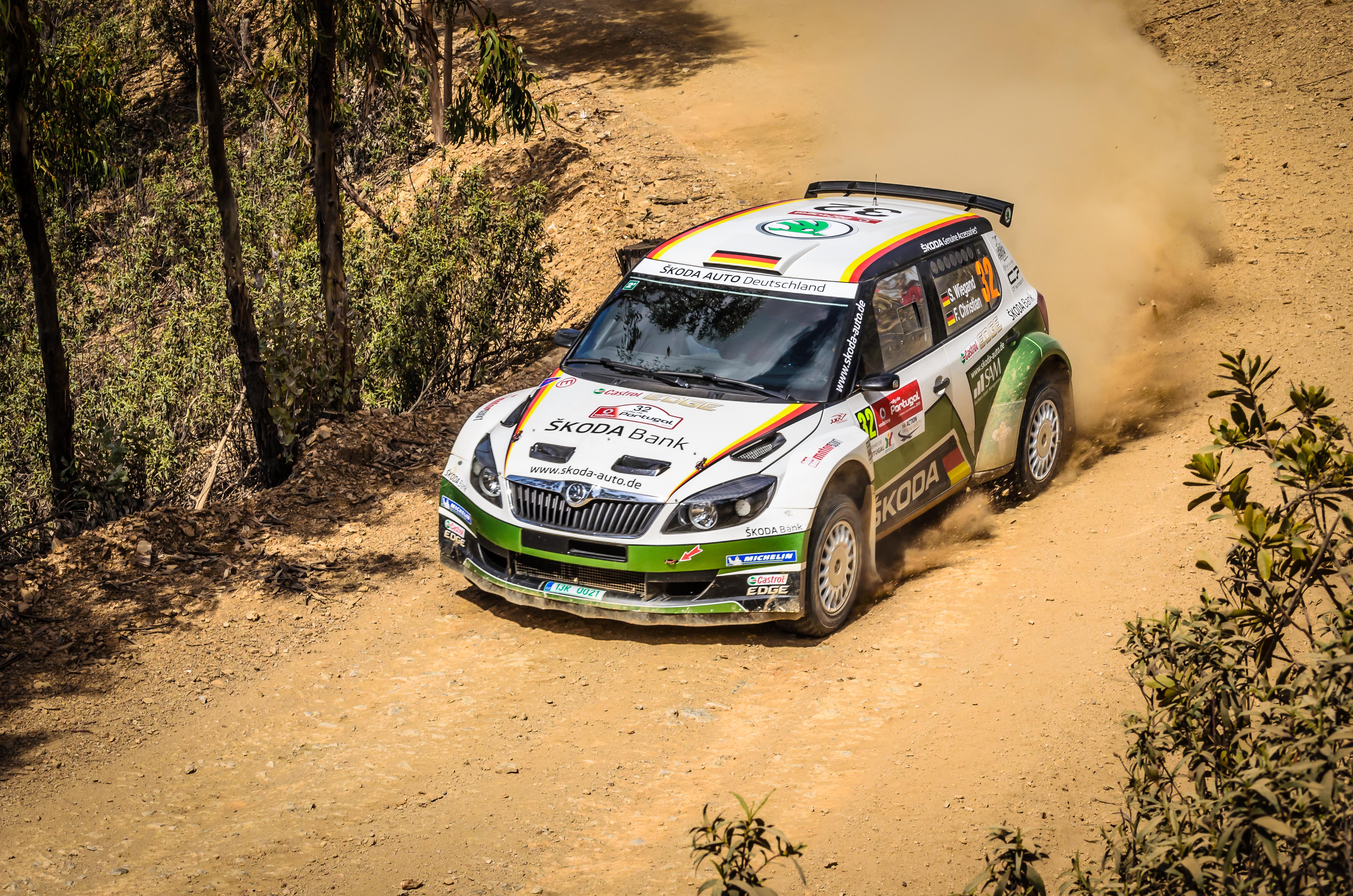 Skoda Rally. portugal, 66, algarve, dust, carracing, 508, nikkor55200mm, bejadistrict, nikond5100, rallyportugal2013, sãobarnabé, seppwiegang, skodafabia2000. buy photo