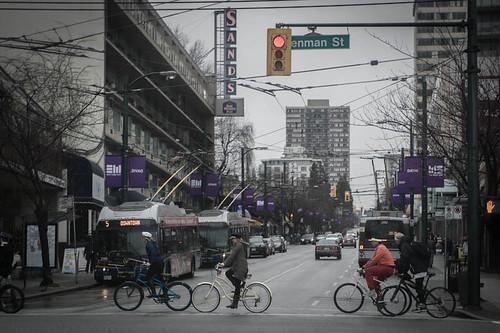 Denman Street Bikes 2014
