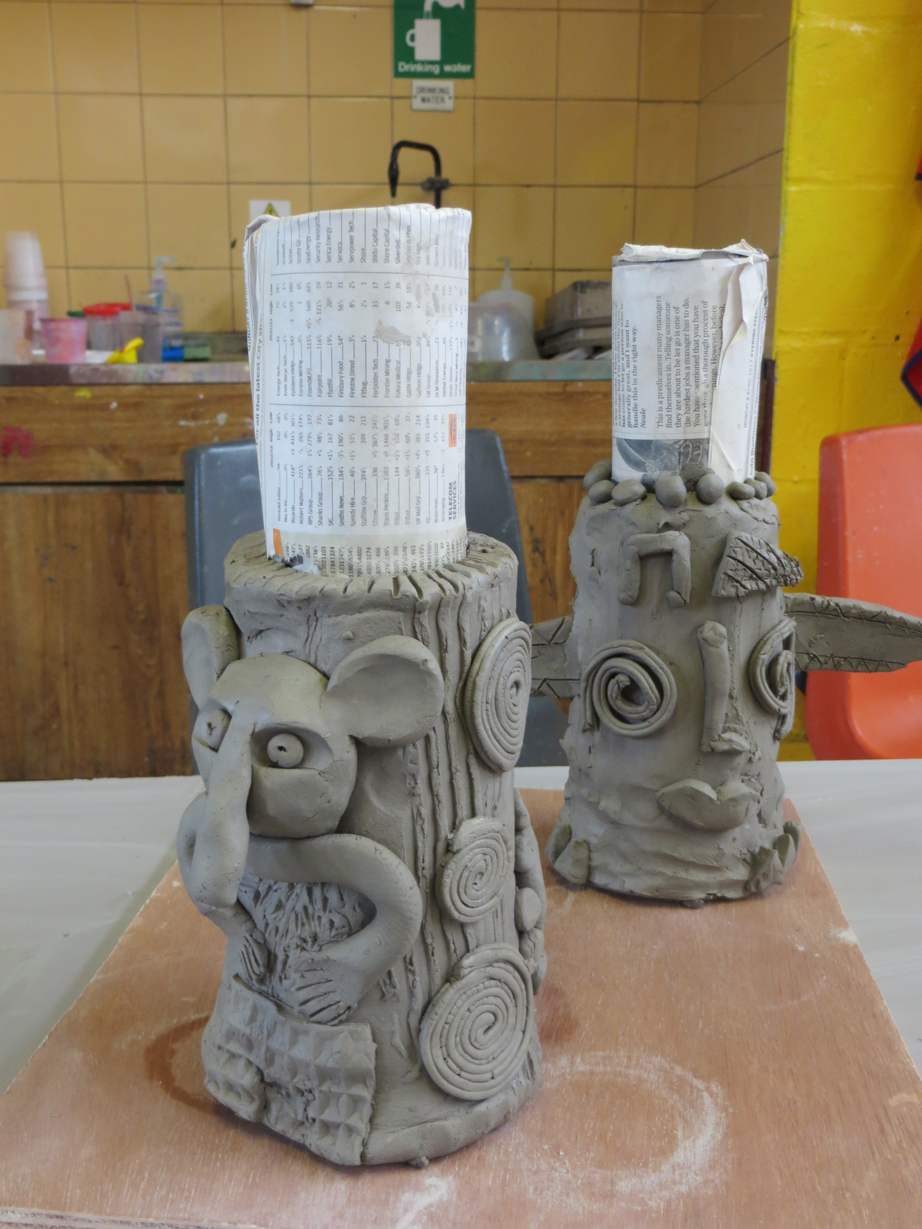KAPG Clay totems