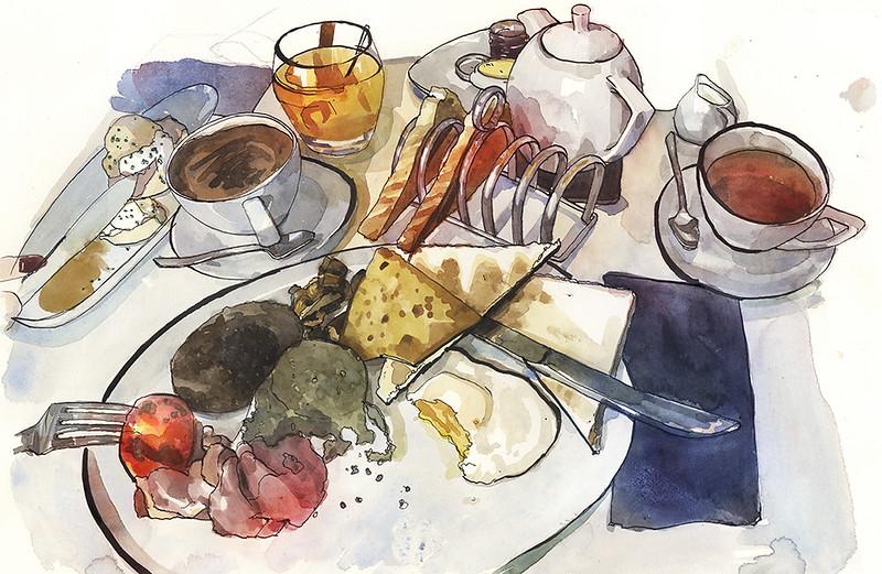 Scottish Full Breakfast