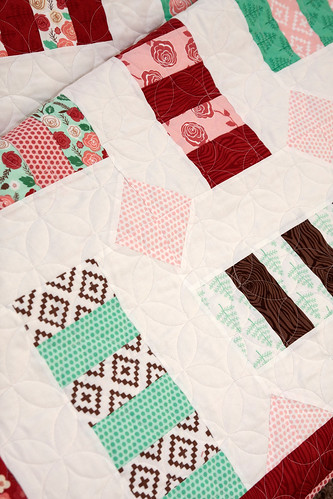 Cartwheel quilt pattern. Fabric is Into the Woods by Vanessa Goertzen of Lella Boutique for Moda.