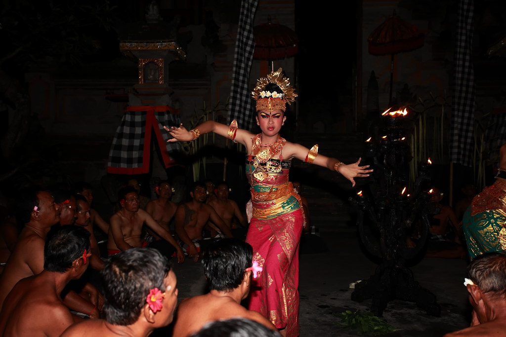 Fire Dance In Bali