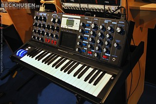 Minmoog Voyager Electric Blue 2174f
