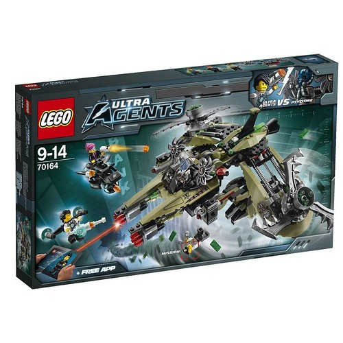 LEGO Ultra Agents 70164 Front