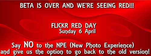 Flickr Red Day Sunday April 6 2014