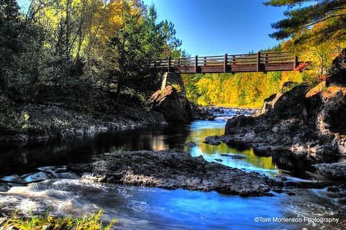 Bad River Footbridge