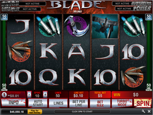 Blade 50 Line slot game online review