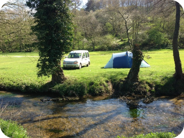 Camping near Dalby forest