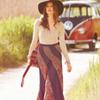 Swirl Maxi Skirt