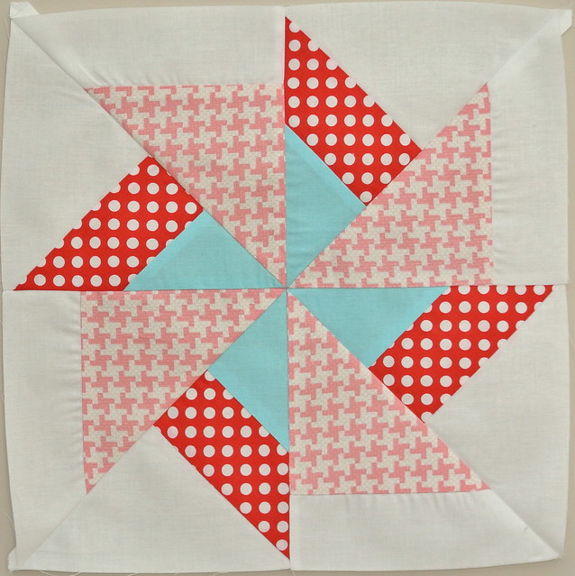 Double Pinwheel Block
