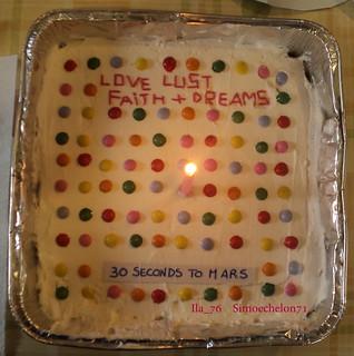 #30SecondsToMars #30STM #MarsCake #LLFD #LoveLustFaithDreams