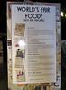 Fair foods in previous decades.