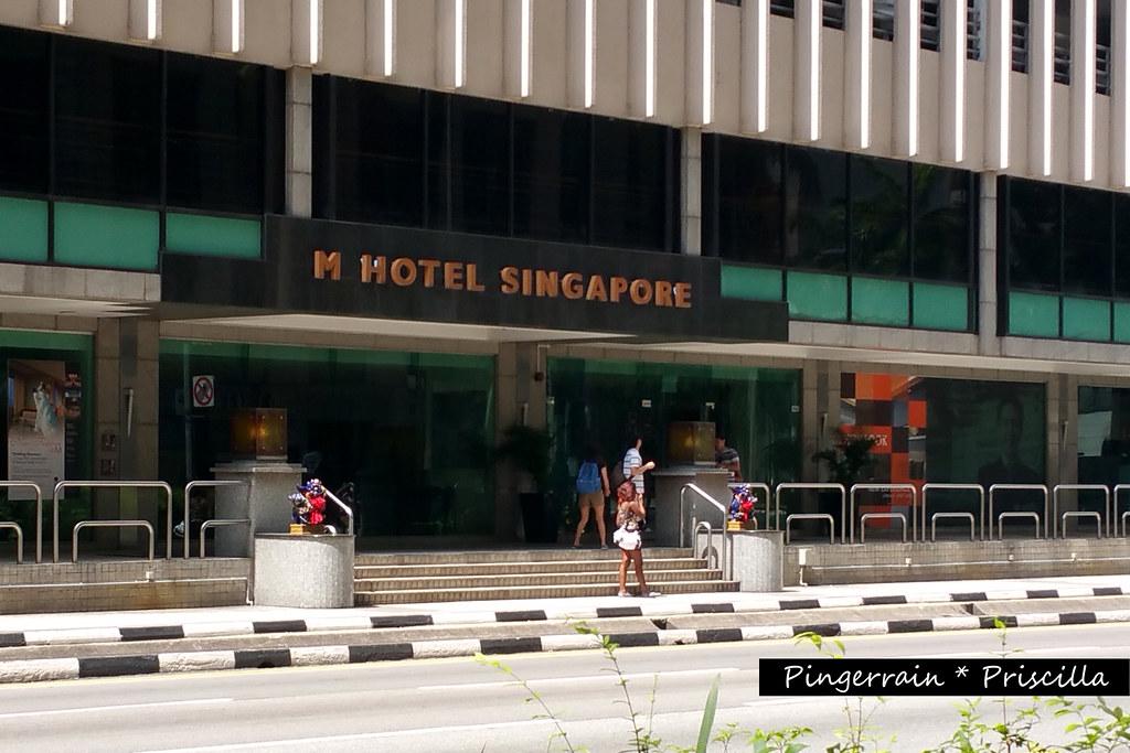 Exterior of M Hotel