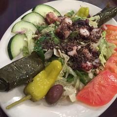 Octopidi en San Antonio. John the greek restaurant.