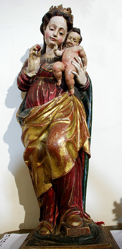 Imagen de Virgen con niño (¿S.XVI?) (Iglesia de San Lorenzo) [Serradilla del Arroyo] {Salamanca}