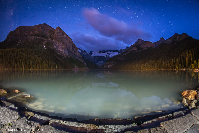 Lake Louise at Night