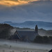 Misty Church Sunrise, Midlothian by Colin Myers Photography
