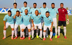 Once del FC Cartagena frente al Villarreal CF B