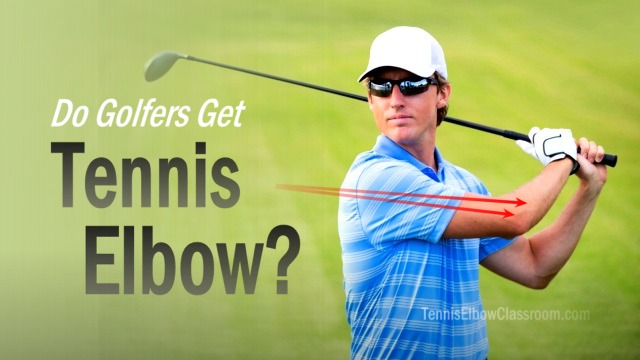 Do Golfers Get Tennis Elbow?