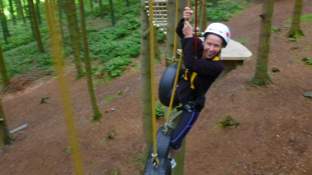 treetop adventures, powerfan plummet, conway, town walls, towyn, towyn beach