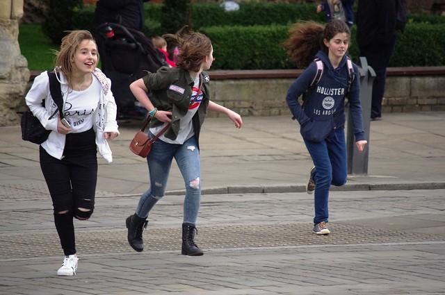 Girls on the Run, Pentax K-R, smc PENTAX-DA L 50-200mm F4-5.6 ED
