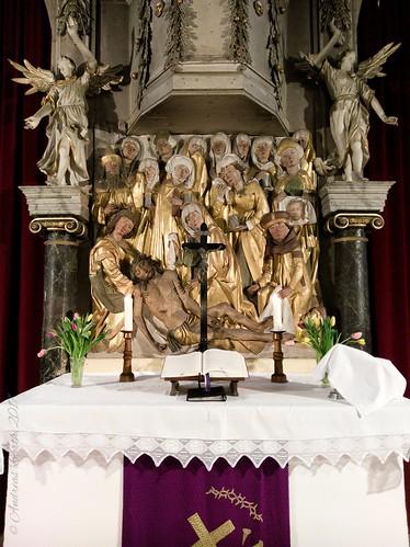 Er starb für uns! Altar