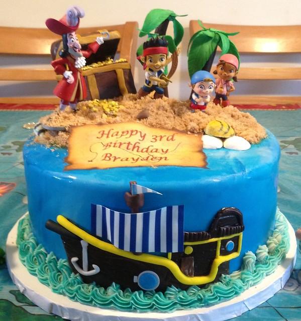 jake and the neverland pirates cake - photo #19