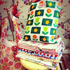 Vintage fabric gorgeousness at Cath Kidston