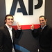 Dario and Helio at the Associated Press