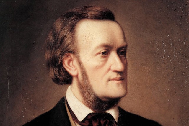 Richard Wagner by Cäsar Willich, 1862