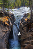 Siffleur Falls with Spring Ice