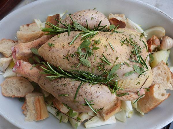 poulet à rôtir
