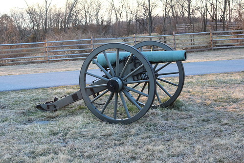 confederate gun on benner hill