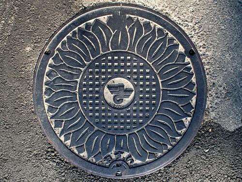 Masaki town Ehime pref,m manhole cover (愛媛県松前町のマンホール)