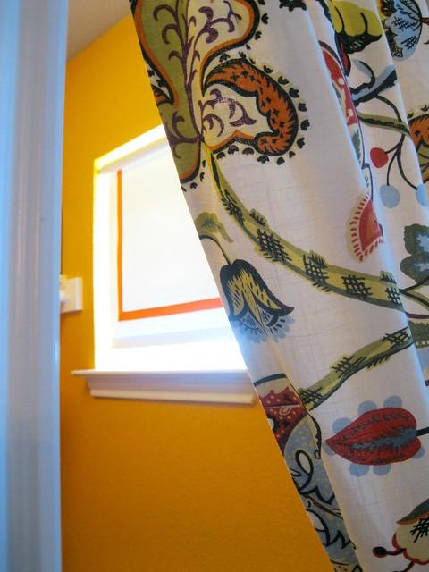 curtain and window shade